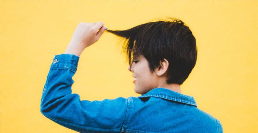 el pelo de las chicas tomboy